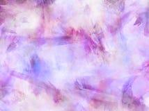 桃红色蓝色紫色水彩纸纹理 图库摄影