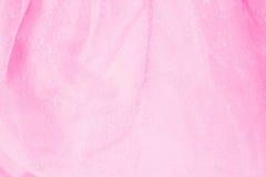 桃红色薄纱 库存照片