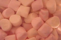 桃红色蛋白软糖背景  库存照片