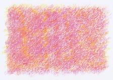 桃红色蜡笔摘要背景 库存图片