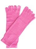 桃红色袜子 库存照片