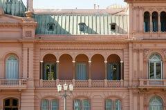 总统桃红色议院住处Rosada -布宜诺斯艾利斯-阿根廷 免版税库存照片
