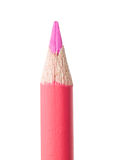 桃红色铅笔 免版税库存图片