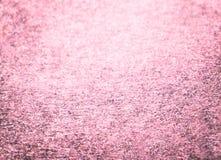桃红色闪烁冬天圣诞节背景 免版税库存图片