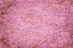 桃红色难看的东西老高明的墙壁纹理背景 库存照片