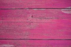 桃红色颜色木头 免版税库存图片