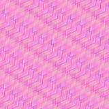 桃红色,紫色和浅兰的菱形和正方形在一个明亮的生动的样式 向量例证