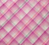 桃红色织品纹理 免版税图库摄影