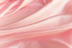 桃红色织品,背景 免版税库存照片