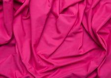 桃红色织品 库存照片