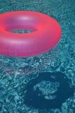 桃红色水池圆环2 免版税图库摄影