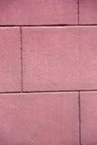 桃红色brickwall纹理  免版税库存照片