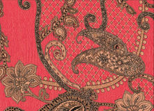 桃红色Cachmere coton garnment 免版税库存图片