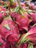 桃红色dragonfruit 免版税库存图片
