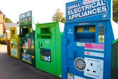 框例证回收回收 免版税库存照片