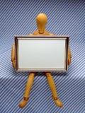 框架人体模型 免版税库存照片