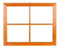 框架住宅空白视窗 库存图片