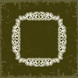 框架例证内部样式对称的向量葡萄酒 免版税库存照片