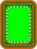 框架俄国传统 库存图片