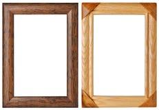 框架做木头 免版税库存照片