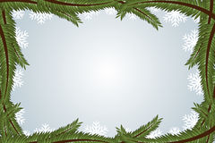 框架冬天 库存图片