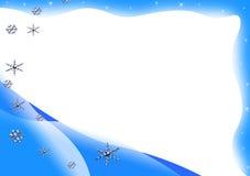 框架冬天 图库摄影