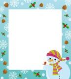 框架冬天 免版税图库摄影