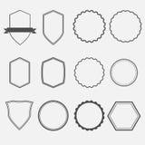 框架和盘区 库存图片