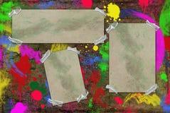 框架墙壁 免版税图库摄影