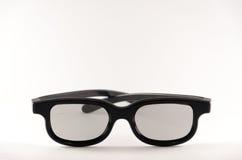 黑框架太阳镜 免版税图库摄影