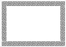 框架希腊 库存照片