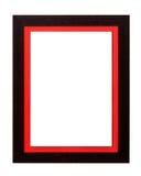 框架席子纸张照片红色葡萄酒 图库摄影