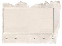 框架报纸 免版税图库摄影