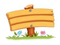 框架木头 向量例证