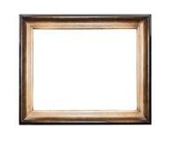 框架查出的木头 库存照片