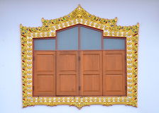 框架样式泰国传统 库存照片