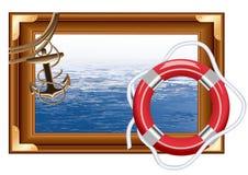 框架海运 皇族释放例证