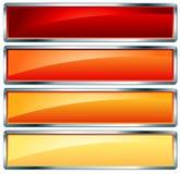 框架热金属 向量例证
