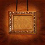 框架照片墙壁 免版税库存照片