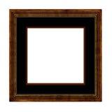 框架照片木头 库存照片