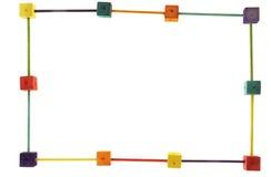 框架照片玩具 免版税库存图片