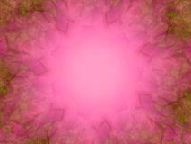 框架照片粉红色纹理 免版税库存图片