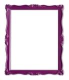 框架照片紫色 免版税库存照片