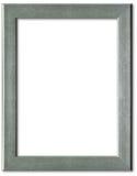 框架照片银 免版税图库摄影