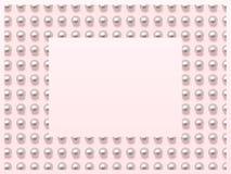 框架珍珠 图库摄影