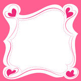 框架甜点 免版税图库摄影
