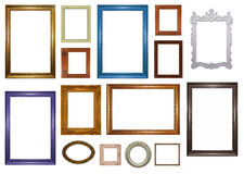 框架生动描述集 库存图片