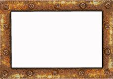框架生锈的钢 库存图片