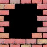框架由砖做成 免版税库存照片