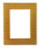 框架由被编织的织品制成在白色背景 免版税库存图片